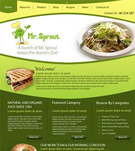 Nature & Forest Web design & development company