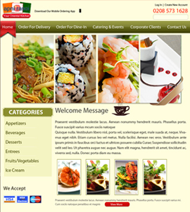 Restaurants & Cafes Web design & development company