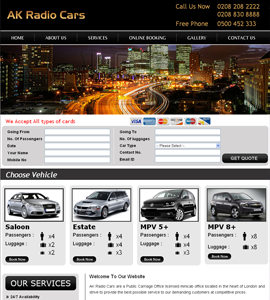 Automobile & Motoring Web design & development company
