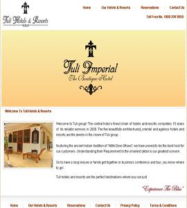 Hotel, Lodges, B & B Web Design & Development Company