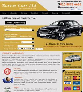 Car Hire & Taxi Web design & development company